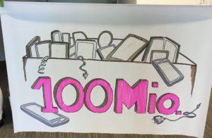 100 Mio. unbenutzte Handys/Smartphones