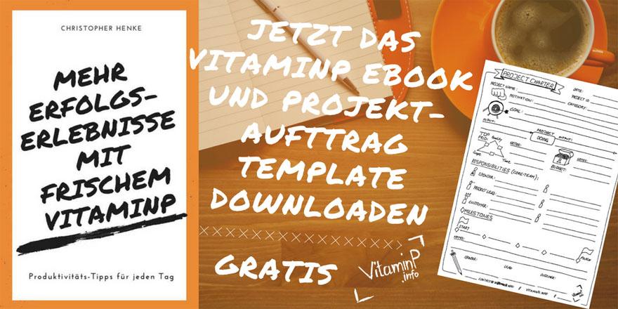 Gratis eBook Projektauftrag VitaminP