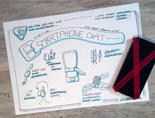 Smartphone Diät für mehr Produktivität
