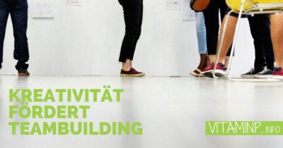 Kreativitaet foerdert Teambuilding Titelbild VITAMINP.info