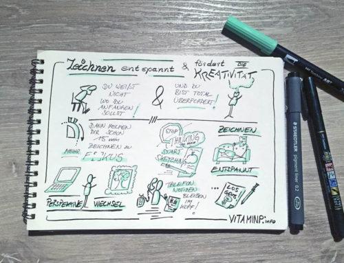 Zeichnen entspannt und fördert Deine Kreativität