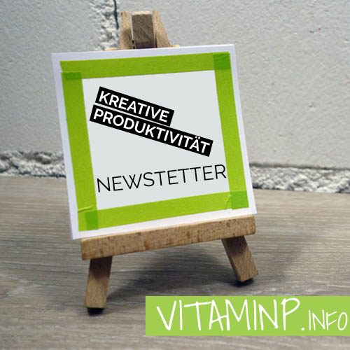 Newsletter Teaser VITAMINP.info