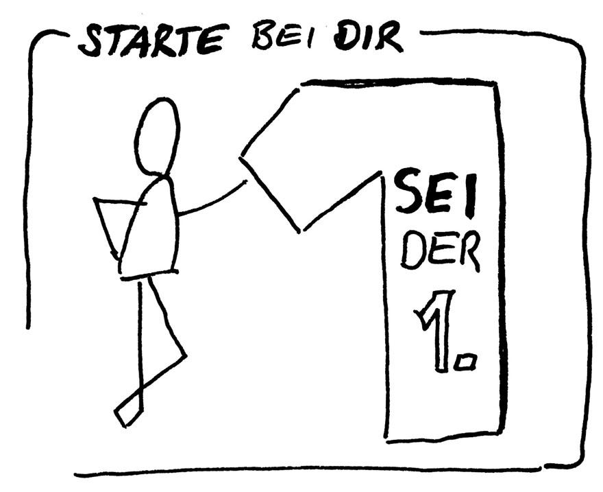 change management startet mit dir - Sei der Erste - VITAMINP.info