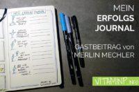 Erfolgsjournal Titel Sketchnote VITAMINP.info