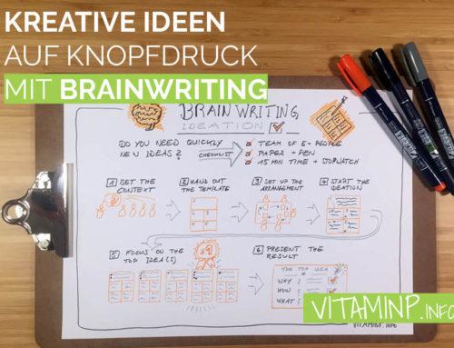Kreative Ideen auf Knopfdruck mit Brainwriting