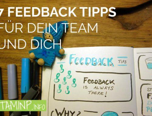 7 Feedback Tipps für dein Team und dich