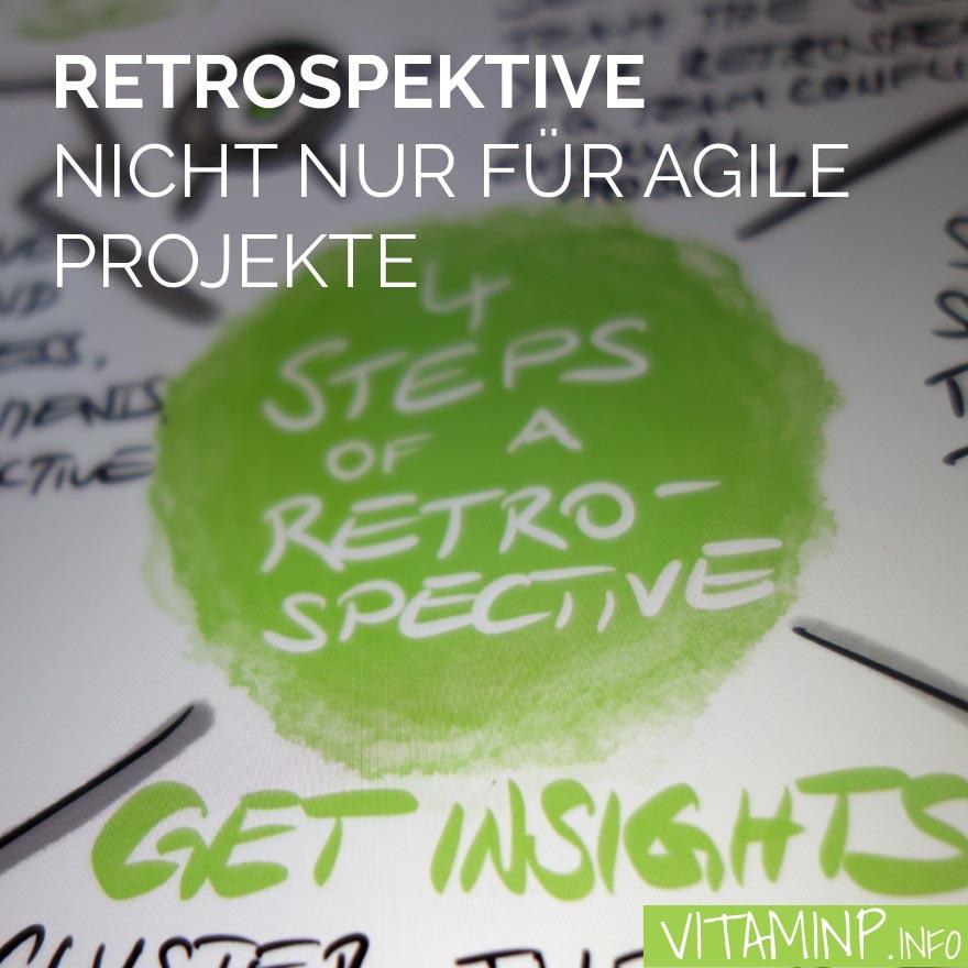 Retrospektive Titel - Sketchnote - VITAMINP.info
