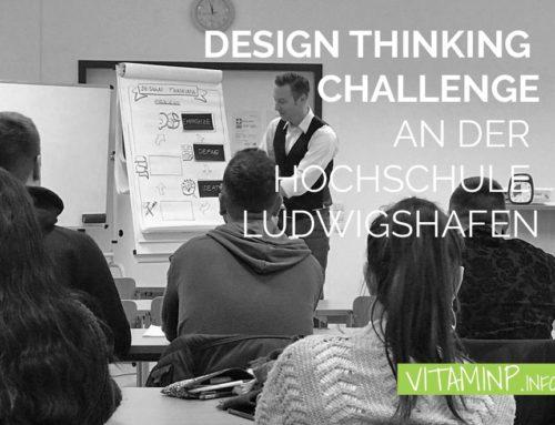 Design Thinking Challenge an der Hochschule Ludwigshafen
