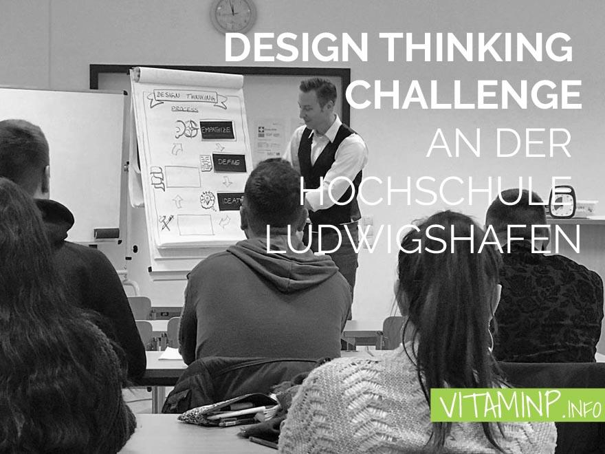 Design Thinking Challenge Titel Sketchnote VITAMINP.info
