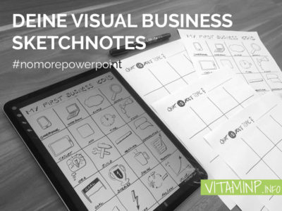 Deine Visual Business Sketchnotes - VITAMINP.info