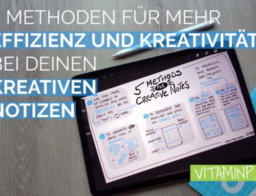 5 Methoden für deine kreativen Notizen