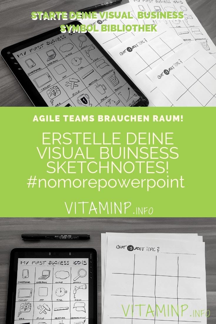 Deine Visual Business Sketchnotes Symbole #nomorepowerpoint