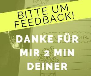 Gib mir dein Feedback - VITAMINP.info