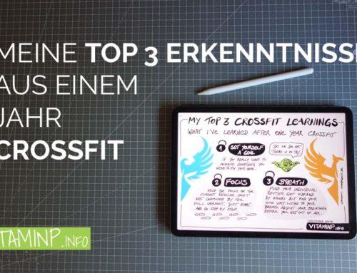Meine top 3 Erkenntnisse aus einem Jahr CrossFit