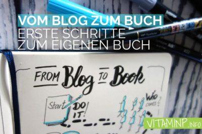 Vom Blog zum Buch - Titel - VITAMINP.info